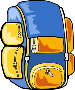 kids' health and backpacks