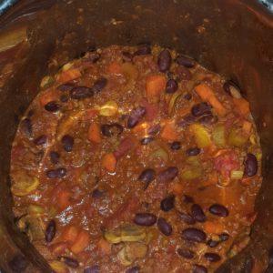 Comforting chili