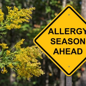 Allergy season is approaching