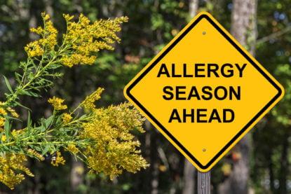 Allergy season is approaching