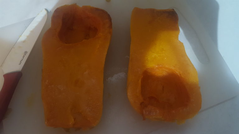 raw butternut squash