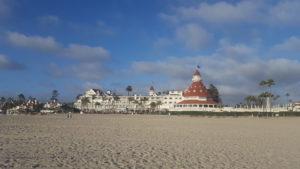 Beachfront at Hotel del Coronado