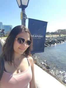 Chilling in seaport village