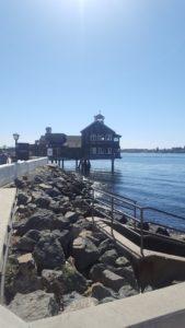 Boardwalk at Seaport village