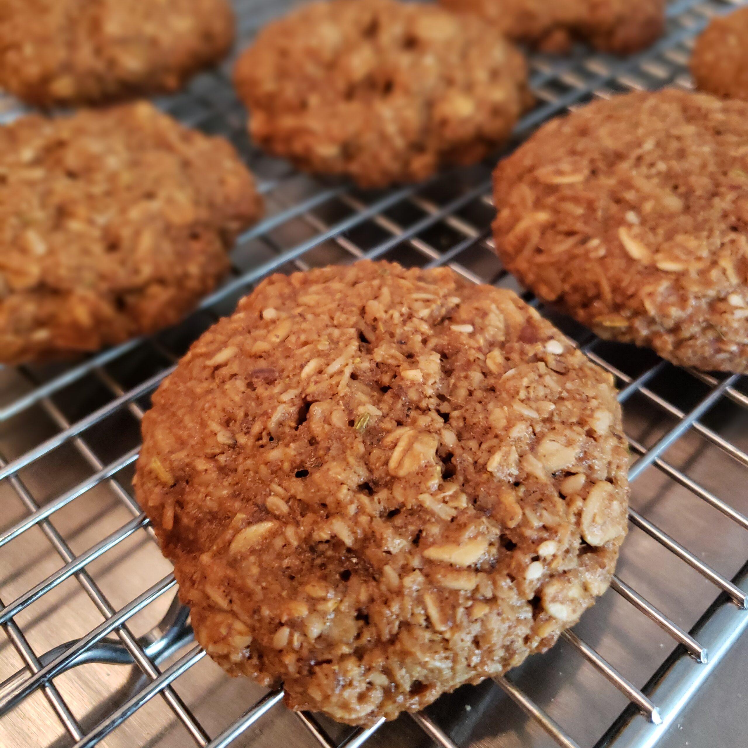 Nourishing Oatmeal Cookies